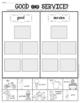 Goods and Services Sort Sheet {Economics} First Grade & Ki