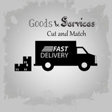 Goods & Services Cut and Match