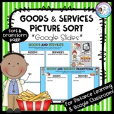 Goods & Services Digital Picture Sort: For Google Classroo