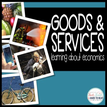 Goods & Services: Reading Passage, Scoot, and Assessment