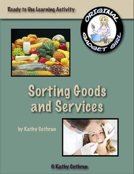 Goods and Services: A Sorting Activity