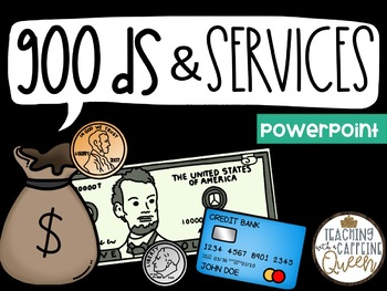 Goods and Services Activities with Interactive PowerPoint