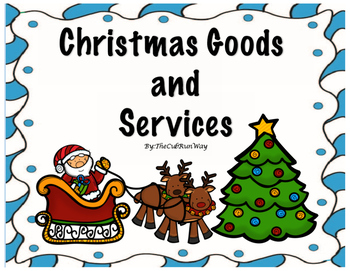 Goods and Services Christmas Activities Reader