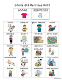 Goods and Services Economics Pack--3 Activities!