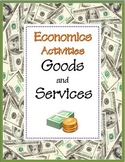 Goods and Services: Economics Skill Sheets
