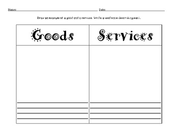 Goods and Services Freebie