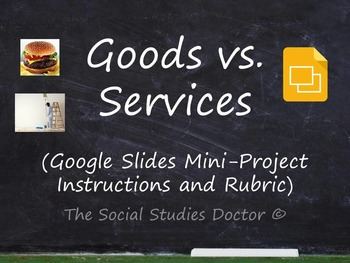 Goods and Services (Google Slides mini-Project instructions and Rubric)