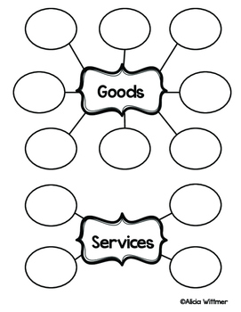 Goods & Services {If You Give a Mouse a Cookie}- ECONOMICS in LIT