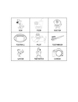 Goods and Services Image Sort Quiz