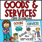 Goods and Services Mini Unit FREE Product