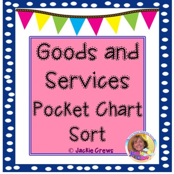 Goods and Services Pocket Chart Sort