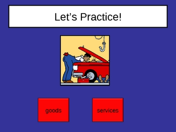 Goods and Services Power Point Presentation