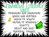 Financial Literacy Unit