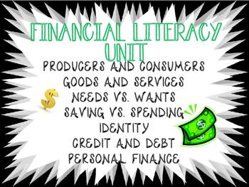 Financial Literacy Unit