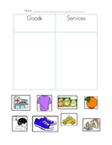 Goods and Services Sort Activity
