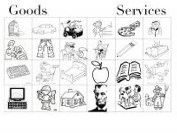 Goods and Services Sorting