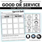 Goods and Services Sort