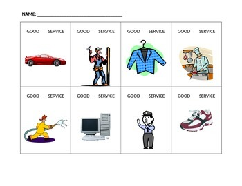 Goods or Services