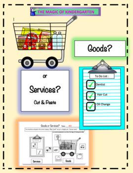 Goods or Services?  Cut & Paste