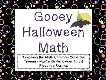 Gooey Halloween Math