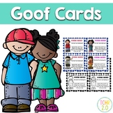 Goof Cards Homework Rewards