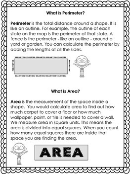Goofus: What Went Wrong 3rd Grade Area and Perimeter