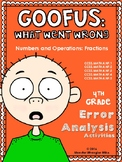 Goofus: What Went Wrong 4th Grade Fractions