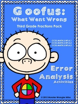 Goofus: What Went Wrong 3rd Grade Fractions