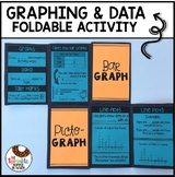 Second Grade Graphing and Data Review Foldable