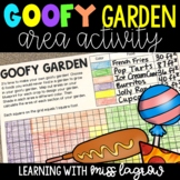 Goofy Garden - Area of Rectangles and Figures Project Based Learning Activity