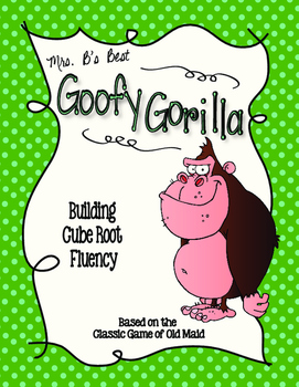 Goofy Gorilla Card Game: Building Cube Root Fluency