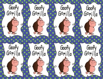 Goofy Gorilla Card Game: Identifying Reciprocals