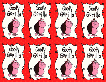 Goofy Gorilla Card Game: Perfect Square Root Fluency