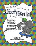 Goofy Gorilla Card Game: Perimeter - Determine the Missing Measurement