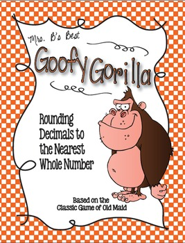 Goofy Gorilla Card Game: Rounding Decimals to the Nearest