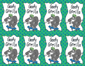 Goofy Gorilla Card Game: Rounding Mixed Numbers to the Nearest Whole Number