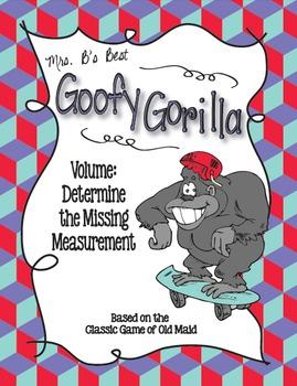 Goofy Gorilla Card Game: Volume - Determine the Missing Me