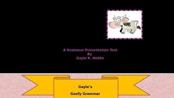 Goofy Grammar Unit 1 What is a Adverb?