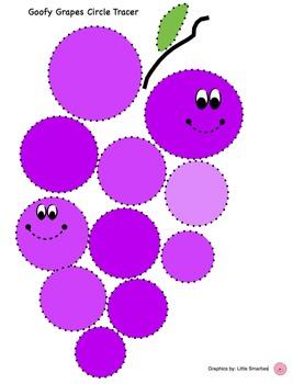 Goofy Grapes Circle Tracer