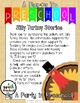 Goofy Turkey Stories based on My Teaching Strategies Pacing Guide Set #2