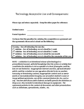 Google Accounts for Education  -  wise use and technology agreements