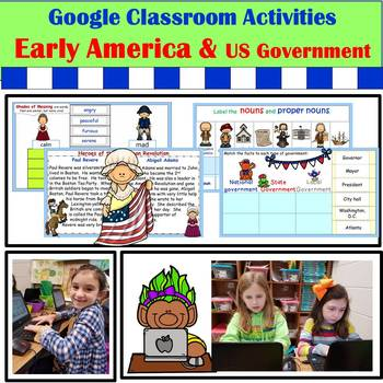 Google Activities: Early America and US Government