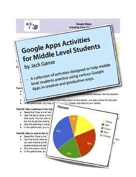Google Activities for Middle Level Students