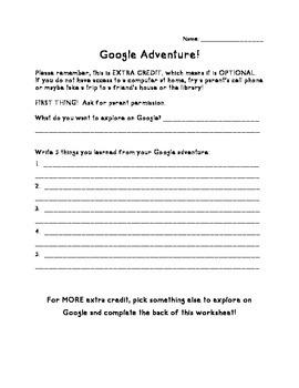 Google Adventure