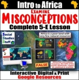 Google   Africa Misconceptions Digital Lesson   Intro to A