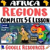 Google   African Regions Digital Lesson  Intro to 5 Region