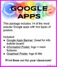 Google App Posters for your class!