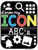 Google Alphabet Cards with Cursive Letters