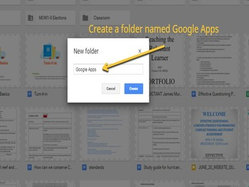 Google Apps Basics Standards Based Lesson Plan with Worksheet, and PowerPoint