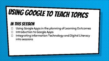 Google Apps CPD